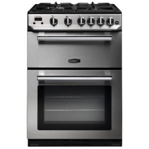 Rangemaster PROP60NGFSS/C Professional Plus 60cm Gas Cooker 107280 – STAINLESS STEEL