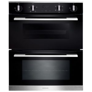Rangemaster RMB7245BL/SS 11217 Built Under Double Oven – STAINLESS STEEL