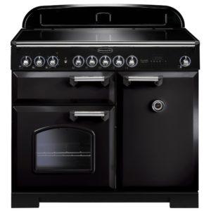 Rangemaster CDL100EIBL/C Classic Deluxe 100cm Induction Range Cooker 95920 - BLACK