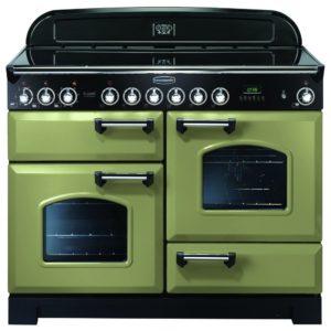 Rangemaster CDL110ECOG/C Classic Deluxe 110cm Ceramic Range Cooker 100940 – OLIVE GREEN