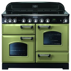 Rangemaster CDL110EIOG/C Classic Deluxe 110cm Induction Range Cooker 100950 – OLIVE GREEN