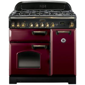 Rangemaster CDL90DFFCY/B Classic Deluxe 90cm Dual Fuel Range Cooker 84490 – CRANBERRY