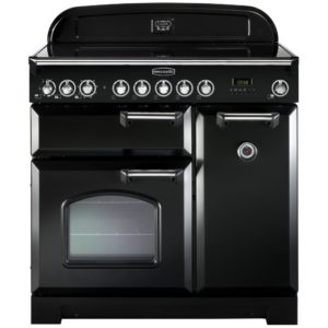 Rangemaster NEX90EIBL/C Nexus 90cm Induction Range Cooker 104820 – BLACK