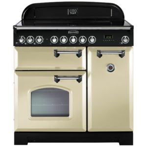 Rangemaster CDL90EICR/C Classic Deluxe 90cm Induction Range Cooker 90230 – CREAM