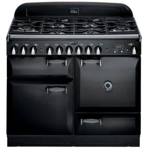 Rangemaster ELAS110DFFBL/ Elan 110cm Dual Fuel Range Cooker 73220 – BLACK