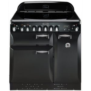 Rangemaster ELAS90ECBL/ Elan 90cm Ceramic Range Cooker 75200 – BLACK