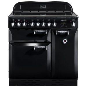 Rangemaster ELAS90EIBL Elan 90cm Induction Range Cooker 89400 - BLACK