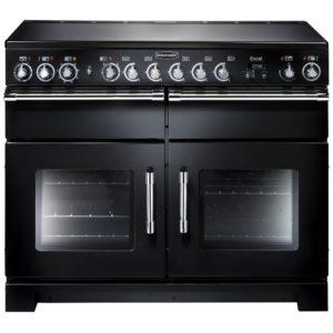 Rangemaster EXL110ECBL/C Excel 110cm Ceramic Range Cooker 81010 - BLACK