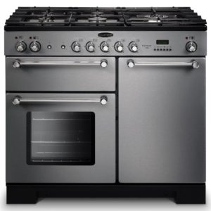 Rangemaster KCH100NGFSS/C Kitchener 100cm Gas Range Cooker 111930 – STAINLESS STEEL