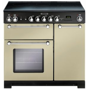 Rangemaster KCH90ECCR/C Kitchener 90cm Ceramic Range Cooker 79280 – CREAM