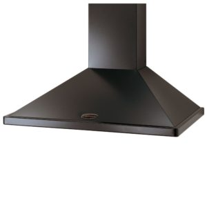 Rangemaster CLAHDC100CR/C 100cm Classic Chimney Hood With Chrome Rail – CREAM