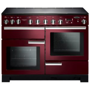 Rangemaster PDL110EICY/C Professional Deluxe 110cm Induction Range Cooker 101570 - CRANBERRY