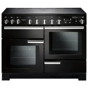 Rangemaster PDL110EIGB/C Professional Deluxe 110cm Induction Range Cooker 101550 - BLACK