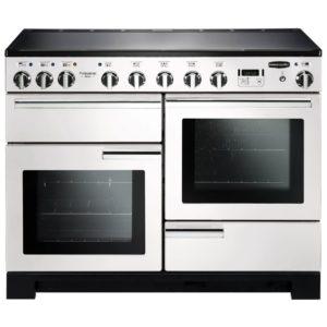 Rangemaster PDL110EIWH/C Professional Deluxe 110cm Induction Range Cooker 101580 – WHITE