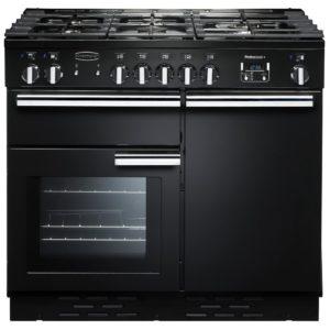 Rangemaster PROP100DFFGB/C Professional Plus 100cm Dual Fuel Range Cooker 92600 – BLACK