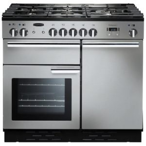 Rangemaster PROP100NGFSS/C Professional Plus 100cm Gas Range Cooker 111770 - STAINLESS STEEL