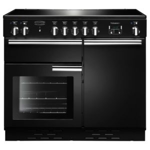 Rangemaster PROP100EIGB/C Professional Plus 100cm Induction Range Cooker 96030 – BLACK