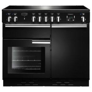 Rangemaster PROP100ECBL/C Professional Plus 100cm Ceramic Range Cooker 112360 - BLACK