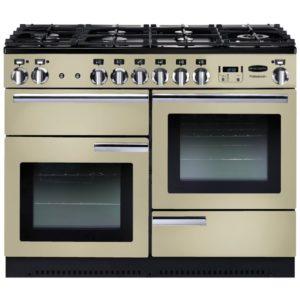 Rangemaster PROP110NGFCR/C Professional Plus 110cm Gas Range Cooker 91970 – CREAM