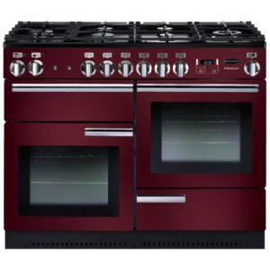 Rangemaster PROP110NGFCY/C Professional Plus 110cm Gas Range Cooker 91990 - CRANBERRY
