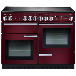 Rangemaster PROP110EICY/C Professional Plus 110cm Induction Range Cooker 91790 - CRANBERRY