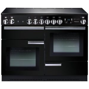 Rangemaster PROP110EIGB/C Professional Plus 110cm Induction Range Cooker 91780 - BLACK
