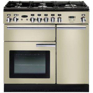 Rangemaster PROP90NGFCR/C Professional Plus 90cm Gas Range Cooker 91920 - CREAM