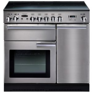 Falcon F900SEISL/N 90cm Single Cavity Electric Induction Range Cooker – SLATE