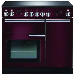 Rangemaster PROP90EICY/C Professional Plus 90cm Induction Range Cooker 91740 – CRANBERRY