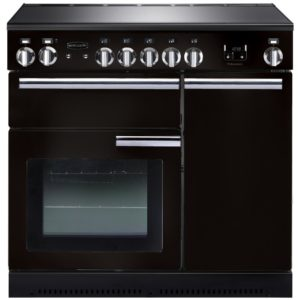 Rangemaster PROP90EIGB/C Professional Plus 90cm Induction Range Cooker 91730 - BLACK