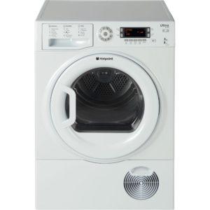 Hotpoint SUTCD97B6P 9kg Ultima S-Line Condenser Tumble Dryer - WHITE