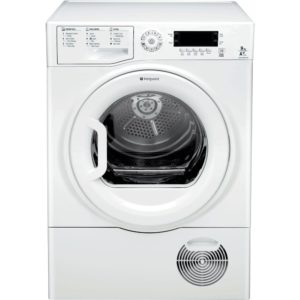 Hotpoint SUTCDGREEN9A1 9kg Ultima S-Line Heat Pump Condenser Tumble Dryer - WHITE