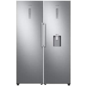 Samsung RR39M73407F RZ32M71207F Larder Fridge And Frost Free Freezer Pack - STAINLESS STEEL