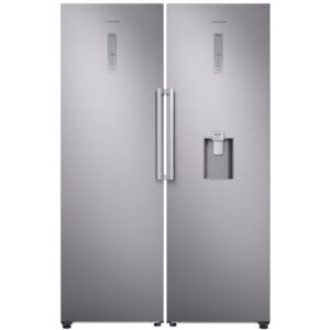 Samsung RR39M7340SA RZ32M7120SA Larder Fridge And Frost Free Freezer Pack - SILVER