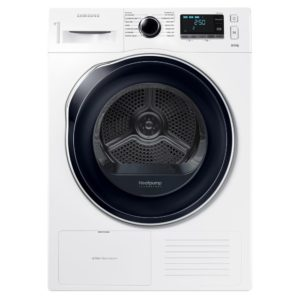 Samsung DV80K6010CW 8kg Heat Pump Condenser Tumble Dryer - WHITE