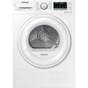 Samsung DV80M50101W 8kg Heat Pump Condenser Tumble Dryer - WHITE