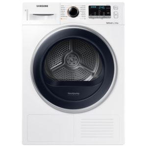 Samsung DV80M5013QW 8kg Heat Pump Condenser Tumble Dryer - WHITE