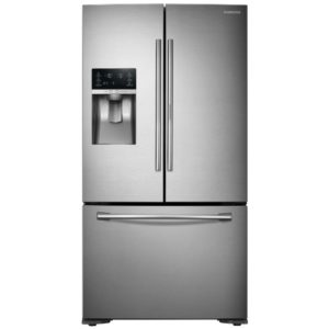Samsung RF23HTEDBSR French Style 3 Door Food Showcase Fridge Freezer - STAINLESS STEEL