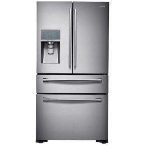 Samsung RF24FSEDBSR French Style 4 Door Fridge Freezer Ice & Water - STAINLESS STEEL