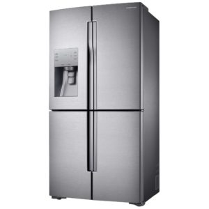 Samsung RF56J9040SR French Style 4 Door Fridge Freezer Ice & Water - STAINLESS STEEL