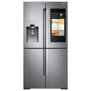Samsung RF56M9540SR French Style Family Hub Fridge Freezer Ice & Water - STAINLESS STEEL