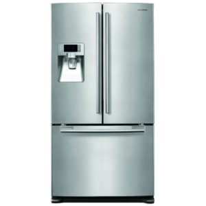 Samsung RFG23UERS French Style 3 Door Fridge Freezer Ice & Water - STAINLESS STEEL