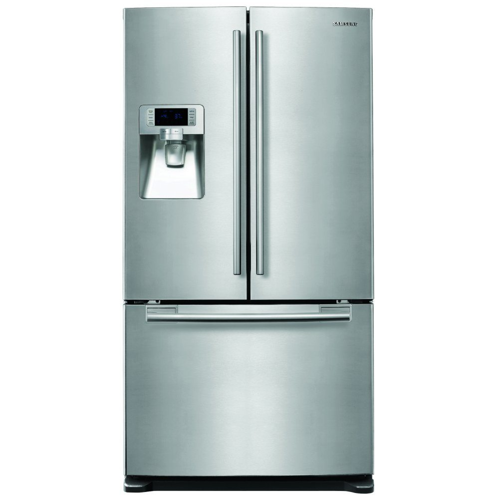 14868ef7022c Samsung RFG23UERS French Style Fridge Freezer With Ice & Water - STAINLESS  STEEL - Appliance City