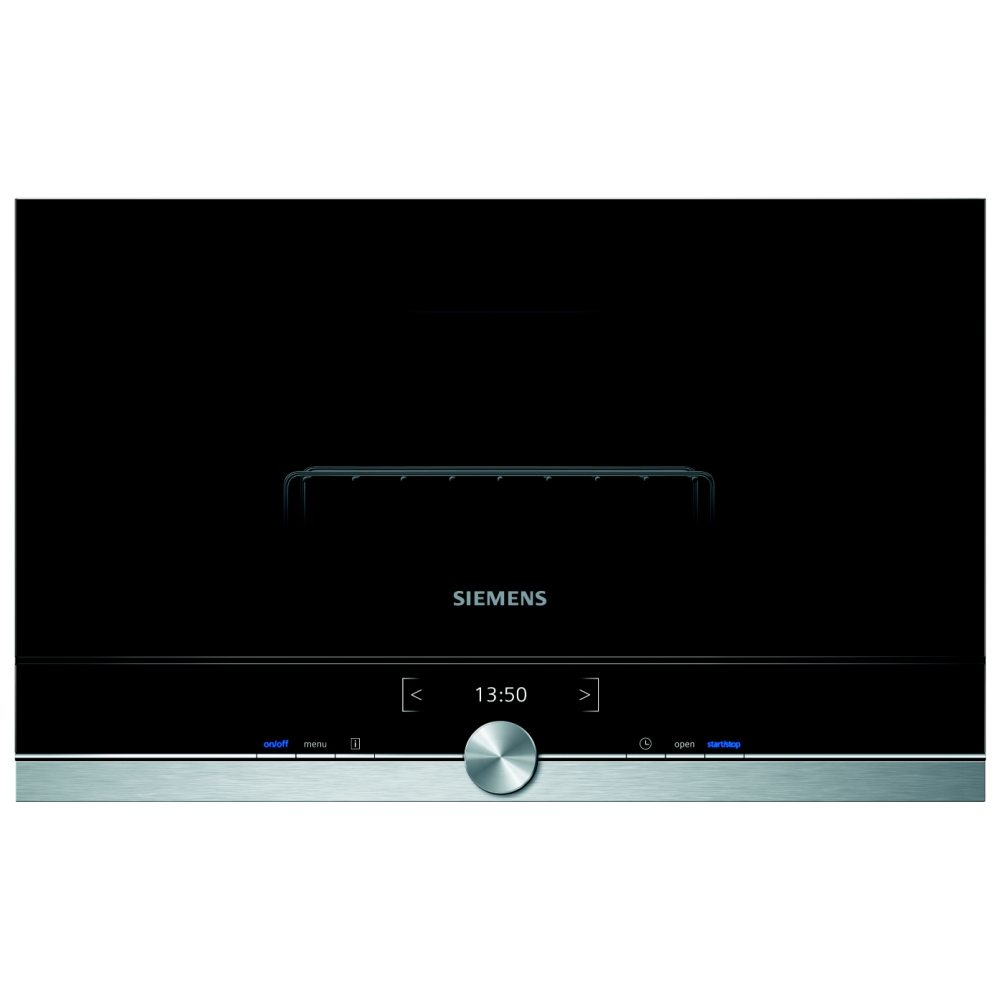 Siemens BE634LGS1B 60cm IQ-700 Built In Microwave & Grill For Wall ...