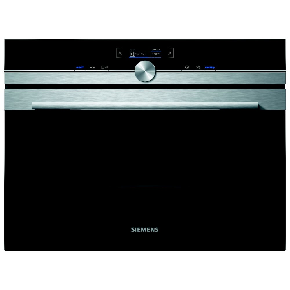 Siemens CB675GBS1B IQ 700 Compact Pyrolytic Multifunction Single Oven U2013  STAINLESS STEEL