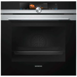 Siemens HR678GES6B IQ700 Pyrolytic Multifunction Oven With AddedSteam – STAINLESS STEEL
