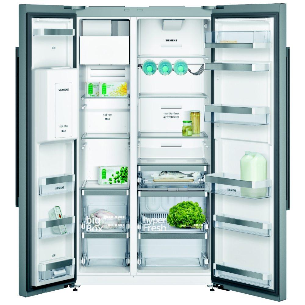 Siemens Ka92dai20g Iq 700 American Style Fridge Freezer