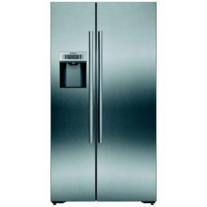 Siemens KA92DAI20G IQ-700 Door Clad American Fridge Freezer Ice & Water – STAINLESS STEEL