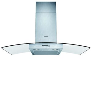 Rangemaster CLAHDC110BC 110cm Classic Chimney Hood With Chrome Rail – BLACK