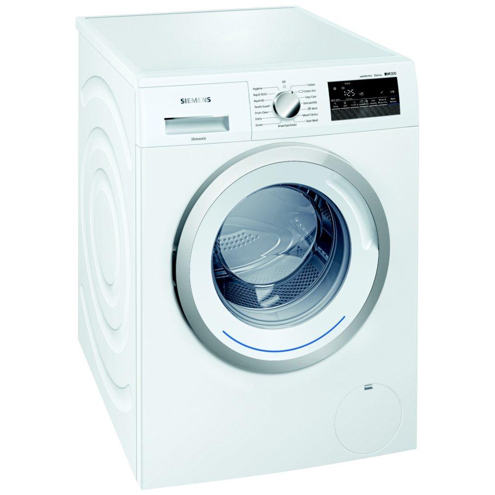Siemens Wm14n200gb 8kg Iq 300 Washing Machine 1400rpm White